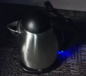 The GE electric kettle I use to make tea at work