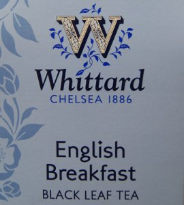 Whittard English Breakfast Black Leaf Tea