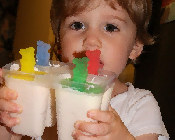 Our son ate lots of popsicles during Hand, Foot, and Mouth Disease