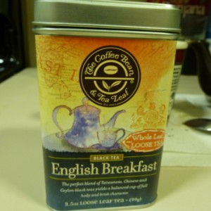 English Breakfast Tea from The Coffee Bean & Tea Leaf