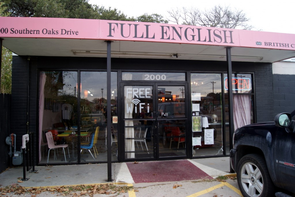 Full English Cafe ATX - Exterior