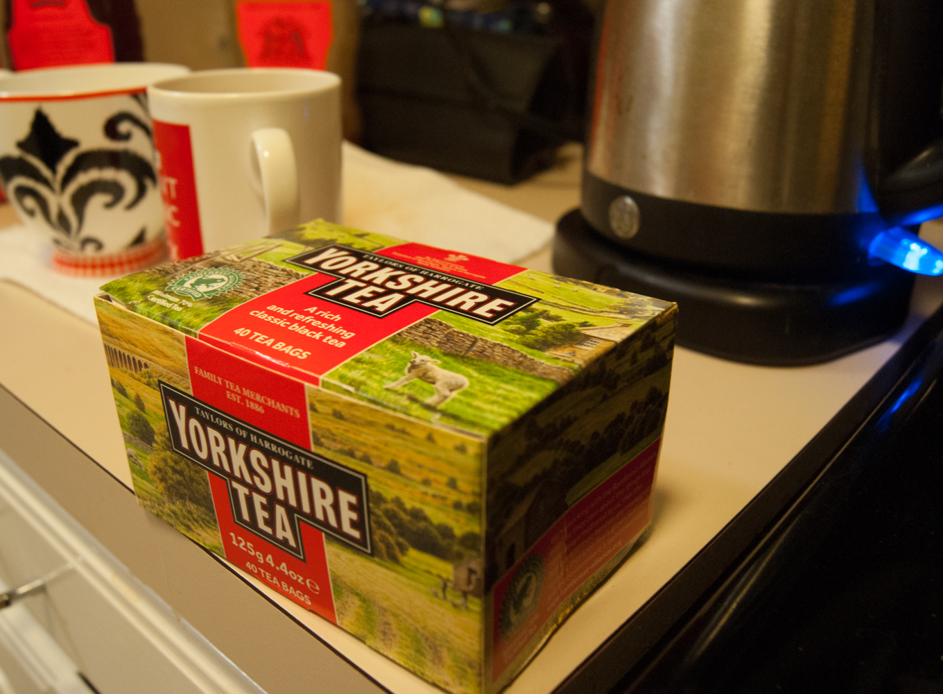 yorkshire tea You'll never have to worry about your biscuit ruining your morning cuppa again thanks to yorkshire tea the tea experts have created a new brew - which is meant to taste exactly like tea and.