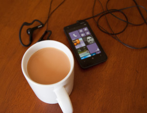 Tetley Extra Strong Tea and Nokia Lumia 620