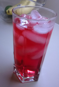 Trader Joe's Pomegranate White Tea Over Ice