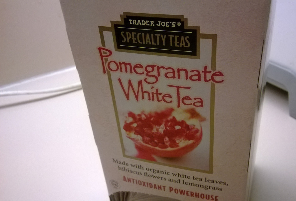 Trader Joe's Pomegranate White Tea